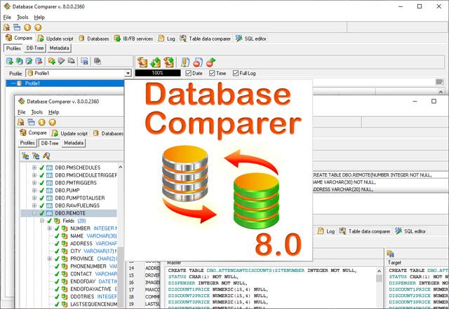 Database Comparer 8.0