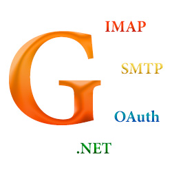 OAuth, SMPT, IMAP using GMail